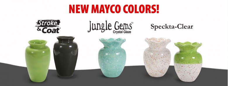 New Mayco Glazes 2019