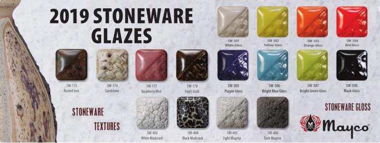 New Mayco Stoneware