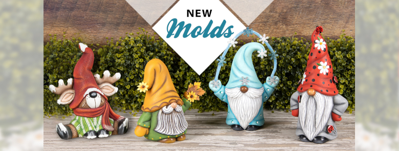 Mayco Gnome Molds