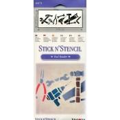 Tool Border Stick N' Stencil