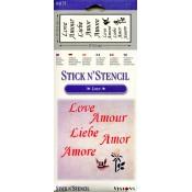 Love Stick N' Stencil