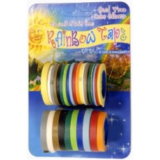 Rainbow Tape - 1 lb. Bulk Package