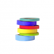 Rainbow Tape - 6 Rolls Assorted