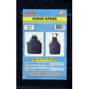 Denim Apron - Black