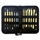 14 pc Deluxe Clay Tool Set