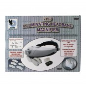 Illuminating Headband Magnifier