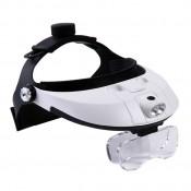 Illuminating Adjustable Headband Magnifier