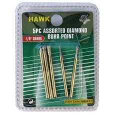 5 pc. Diamond Burr Set