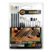 15 pc. Assorted Brush Set