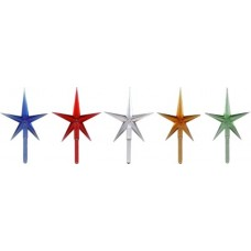 Modern Medium Stars - Assorted Colors (5-pack)