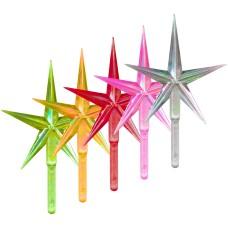 Aurora Medium Stars - Assorted Colors (5-pack)