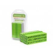 Attachable Letters Stamp Set (36 pcs) Uppercase